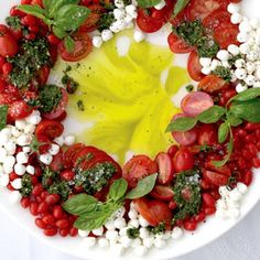Christmas Caprese Wreath Recipes from: Foodily