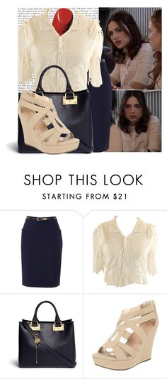 """""""Allison Argent-Anchors"""" by elenadobrev90 ❤ liked on Polyvore featuring Episode, Uttam Boutique, Chanel and Sophie Hulme"""
