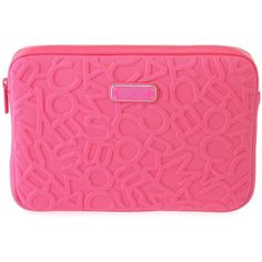 Marc by Marc Jacobs Scrambled Logo Neoprene Tablet Case (€62) ❤ liked on Polyvore