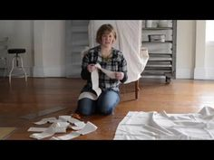 textile sale & how to make a slipcover | part 5 - Miss Mustard Seed