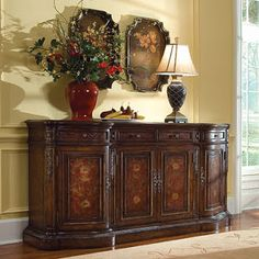 Great Credenza To Use As A Dining Room Hutch