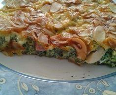Frittata met platte kaas, broccoli en kerstomaatjes - Recept uit myTaste Frittata, Lasagna, Cheesecake, Breakfast, Ethnic Recipes, Ovens, Food, Morning Coffee, Lasagne