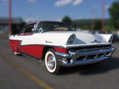 One of my all time favorite cars,1956 Mercury Montclair in my all time least favorite colors,red.