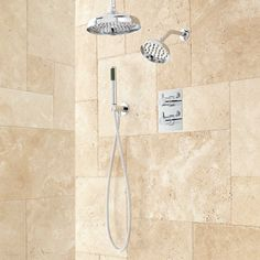 Hinson Dual Shower Head Shower System with Hand Shower $600