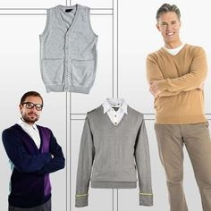 Mens Fashion Sweaters and Vests #MensFashionOver40