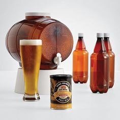 Hmmmm Gift Idea for the hubby! mr. beer brewing kit