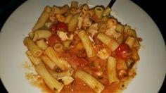Slimming World Mediterranean veg, chicken and pasta