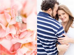 Newport News Beach Engagement Photography | Anna Grace Photography | Engagement Ring
