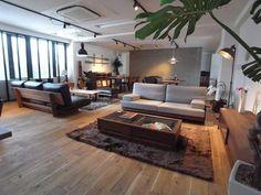 Interior Design Layout, Interior Styling, Diy Design, Home Garden Design, House Design, Japanese House, Mid Century Modern Furniture, Interior Exterior, Fashion Room