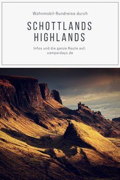 Diese Route durch die schottischen Highlands ist ein echter Klassiker und gehört auf jede Bucket List: Die ganze Route für die Wohnmobil-Rundreise ab Edinburgh findet ihr in unserem Blogbeitrag. Ab nach Schottland! Inverness, Montenegro, Van Life, Scotland, Journey, Stay Safe, World, Poster, England