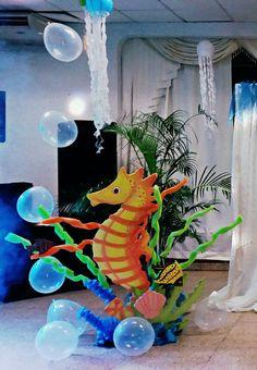 Seahorse decoration
