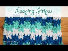 This Leaping Stripes blanket / scarf is very beautiful plus very easy to make. You can find many crochet video tutorials or patterns on our website. I have not seen such a similar crochet to Candy Cane. So i decided to share it with…Read Afghan Patterns, Crochet Blanket Patterns, Crochet Stitches, Stitch Patterns, Knitting Patterns, Learn To Crochet, Easy Crochet, Crochet Baby, Crochet Flower