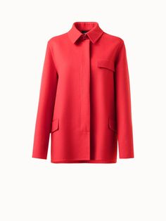 Akris® Official – Collared Double Face Wool Jacket Oversized Jacket, Warm And Cozy, Collars, Fall Winter, Blazer, Wool, Chic, Jackets, Outfits