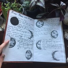 Recreational Witchcraft — lilcrystalkitty: Finally started my grimoire! Wiccan, Magick, Witchcraft, Modern Witch, Moon Magic, Witch Aesthetic, Bullet Journal Inspiration, Book Of Shadows, Journal Pages