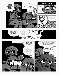 Kim Pine and Scott Pilgrim