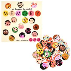 OMM Design memory game face