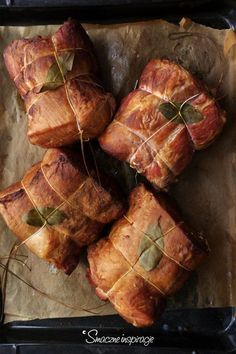 Polish Recipes, Meat Recipes, Cooking Recipes, Kielbasa, Smoking Meat, Pork Ribs, Charcuterie, Preserves, Sausage