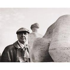 Sabine Weiss, Henry Moore, 1950.