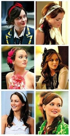 Blair Waldorf and her headbands