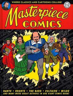 """Masterpiece Comics"" - Robert Sikoryak©    #illustration #elartedeladistorsión #creemosenelasombro"