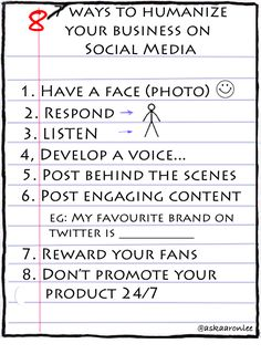 Here are 8 ways you can do to humanize your business on social media