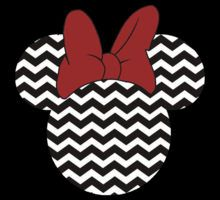 Minnie Mouse Chevron by sweetsisters Mickey Mouse Classroom, Disney Classroom, Mickey Mouse Head, Mickey Mouse And Friends, Mickey Minnie Mouse, Disney Mickey, Disney Theme, Disney Fun, Disney Frames