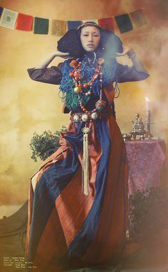Tibetan Losar by Mr. Sith, via Behance