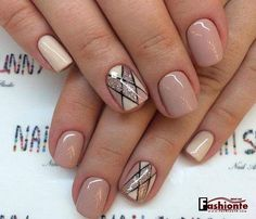 Trendy Nails with Beautiful Designs 2017 | Fashionte