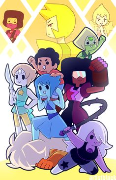 sequel to [this] (open in new tab because tumblrrrrr) also, a print at AX table K2! STEVEN UNIVERSE