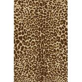 Found it at Wayfair - Infinity Home Kings Court Gold Leopard Animal Print Rug