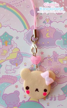 Hey, I found this really awesome Etsy listing at https://www.etsy.com/listing/162060518/adorable-and-kawaii-bear-phonestrap-with
