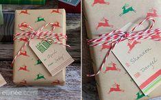 papier cadeau a imprimer telecharger gratuit renne