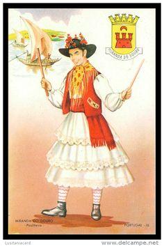 BRAGANÇA - MIRANDA DO DOURO - COSTUMES - Pauliteiro ( Ed. Neconsar Nº 16)  carte postale
