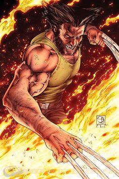 Interests Submission #2 Wolverine by Shane Davis *
