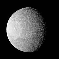 Here's Looking at You, #Tethys. One of #Saturn's larger icy moons as photographed by @NASA's # Cassini mission. Tethys vaguely resembles an eyeball 👁 staring off into space. The resemblance is due to the enormous crater, Odysseus, and its complex of central peaks. Like any solar system moon, Tethys (660 miles or 1,062 kilometers across) has suffered many impacts. These impacts are a prime shaper of the appearance of a moon's surface , especially when the moon has no active geological…