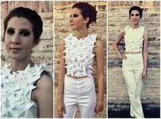Desfile 2do año Ruffle Blouse, Women, Fashion, Pictures, Moda, Fashion Styles, Fashion Illustrations, Woman