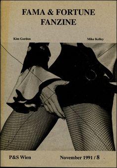 Specific Object: Fama & Fortune Bulletin : Kim Gordon / Mike Kelley