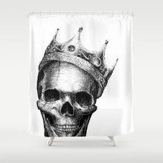 The+Notorious+B.I.G.+Shower+Curtain+by+Motohiro+NEZU+-+$68.00