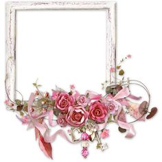 Frames Cluster ❤ liked on Polyvore featuring frames, backgrounds, flowers, pink, borders, fillers and picture frames