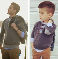 un petit garcon imite les top modeles 9   un petit garçon imite les top modèles   top modèle Ryker Wixom photo parodie ministylehacker imita...