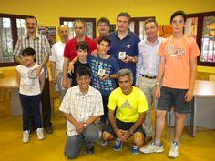 Grupo de participantes en el Torneo de Ajedrez de Sigüenza San Juan 2014. ¡Gracias por participar!