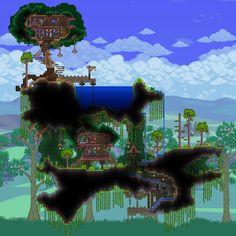 Resultado de imagen para terraria custom jungle biome