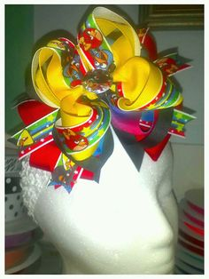 Hey, I found this really awesome Etsy listing at http://www.etsy.com/listing/156414698/angry-birds-big-hair-bow