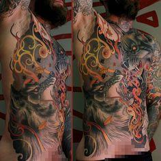 Tattoo done byJeff Gogue. @Jeff Sheldon Gogue