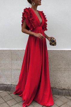 Elegant maxi dress - Unique V Neck Backless Chiffon Evening Prom Dresses, Cheap Custom Sweet 16 Dresses, 18497 – Elegant maxi dress Sweet 16 Dresses, Pretty Dresses, Beautiful Dresses, Cheap Bridesmaid Dresses, Cheap Dresses, Dresses Dresses, Long Dresses, Dresses Online, Backless Maxi Dresses