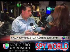 Visita de Noticiero Univision a Spy World Miami, Diana montano, entrevistando a Steve Gonzalez, Director General de Spyworldmiami #univision #miami#miamibeach #spystore #spygps #spy#dianamontaro #noticias #noticierounivision #coralgables #noticias #español #castellano #latino