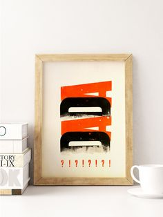 Dada poster #3 by Cabaret Typographie
