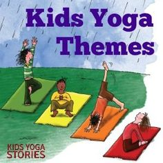 Yoga Poses : Are you looking for easy kids yoga themes? Enjoy this collection of monthly kids yoga themes to integrate yoga into your curriculum all year round. Kids Yoga Poses, Yoga For Kids, Exercise For Kids, Pranayama, Preschool Yoga, Yoga Games, Family Yoga, Childrens Yoga, Yoga Books
