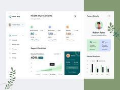 Dashboard Ui, Dashboard Design, Ui Inspiration, Management, Layout, Marketing, Health, Migraine, Insight