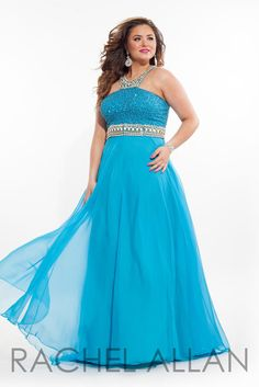 Women Beaded Long Prom Party Dresses Plus Size Formal Evening Ball ...